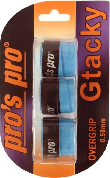 Viršutinės koto apvijos Pro's Pro G Tacky (3 vnt.) - blue