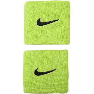 Frotka tenisowa Nike Swoosh Wristbands - atomic green