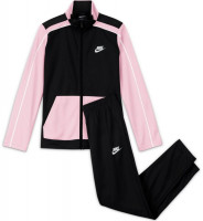 Dres młodzieżowy Nike U Swoosh Futura Poly Cuff TS - black/pink foam/white/white