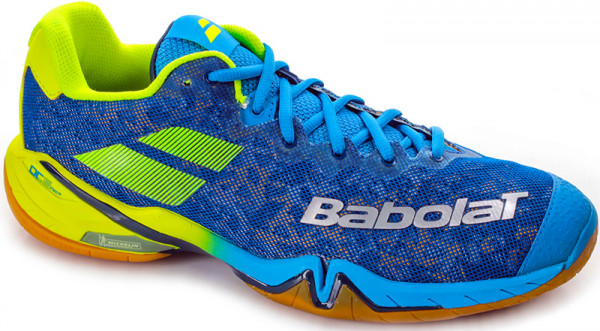 Buty do squasha Babolat Shadow Tour Men - blue/yellow