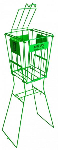Bumbiņu grozs Pro's Pro Ballkorb 72 - green