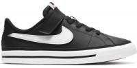 Tenisice za djecu Nike Court Legacy (PSV) Jr - black/white/gum light brown