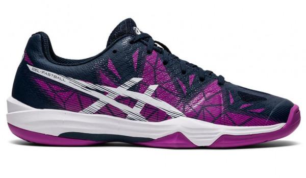Damskie buty do squasha Asics Gel-Fastball 3 W - digital grape/white