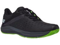 Męskie buty tenisowe Wilson Kaos 3.0 Clay - black/ebony/blade green