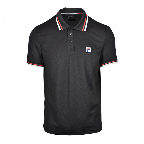 Polo marškinėliai vyrams Fila Polo Albert M - black