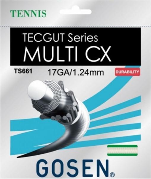 Teniso stygos Gosen TECGUT Multi CX (12.2 m) - natural