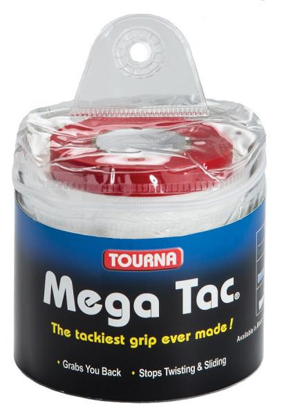 Owijki tenisowe Tourna Mega Tac XL (30 szt.) - blue