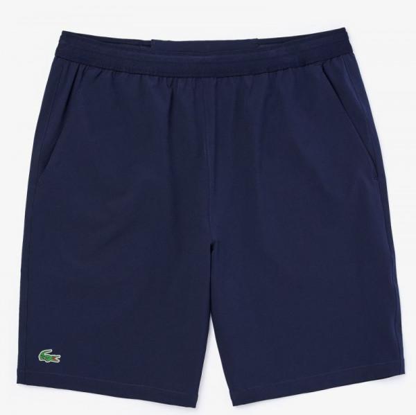 Męskie spodenki tenisowe Lacoste Men's Sport Tennis Stretch Shorts - blue marine