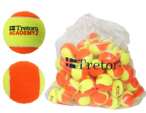 Juunioride tennisepallid Tretorn Academy Orange Bag 72B