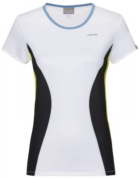 Damski T-shirt Head Mia T-Shirt W - white/yellow