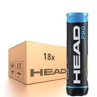 Teniso kamuoliukų dėžė Head Pro - 18 x 4B