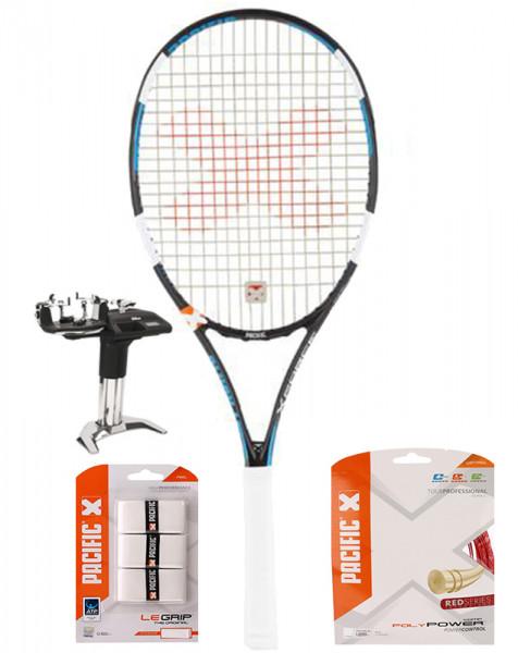 Rakieta tenisowa Pacific BXT X Force LT Pro No.1 + naciąg + usługa serwisowa