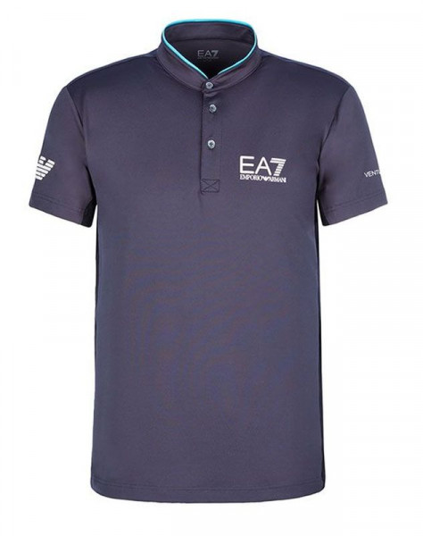 Meeste tennisepolo EA7 Man Jersey Jumper - anthracite