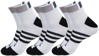 Skarpety tenisowe Adidas Clima ID Ankle Thin Cushioned 3 pairs-pack - 3 pary/white/black