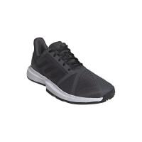 Teniso batai vyrams Adidas CourJam Bounce M Clay - grey six/core black/cloud white