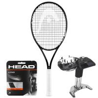 Rakieta tenisowa Head Graphene 360+ Speed MP Black + naciąg + usługa serwisowa