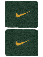 Nike Swoosh Wristbands - cosmic bonsai/university gold