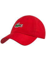 Czapka tenisowa Lacoste SPORT NOVAK DJOKOVIC-ON COURT COLLECTION Microfiber Cap - red/red