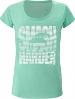 Koszulka dziewczęca Babolat Exercise Message Tee Girl - cockatoo heather