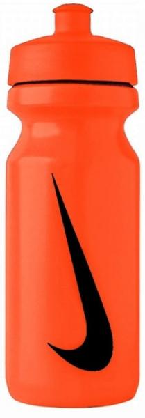 Ūdens pudele Bidon Nike Big Mouth Water Bottle 0,65L - orange rush/orange rush/black