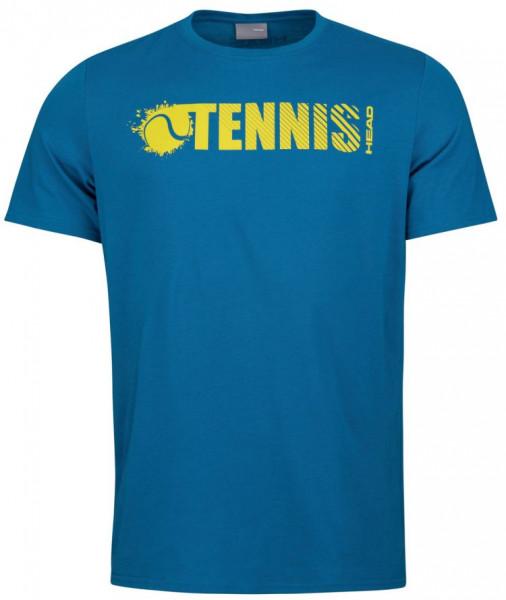 Meeste maika Head Font T-Shirt M - blue