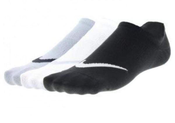 Skarpety tenisowe Nike Lightweight Train No Show 3P W - black/white/grey