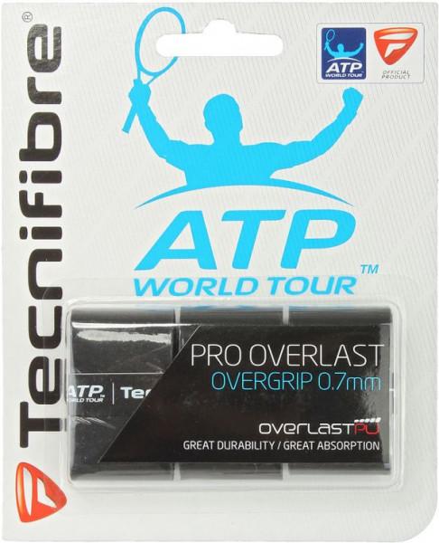 Liimlindid ülemähkimiseks Tecnifibre Pro Overlast 3P - black