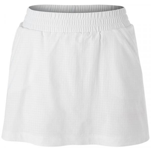 Ženska teniska suknja Adidas Seasonal Skirt - white/shock pink
