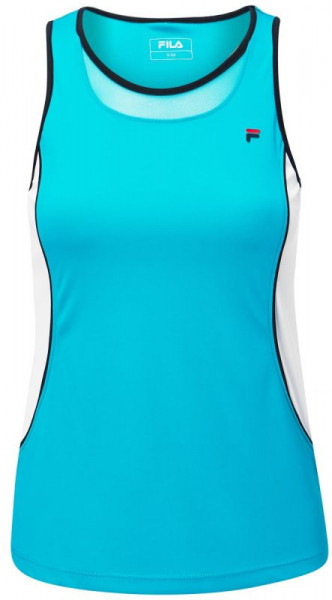Ženska majica bez rukava Fila Top Vivienne W - turquoise
