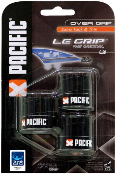 Owijki tenisowe Pacific Le Grip The Original black 3P