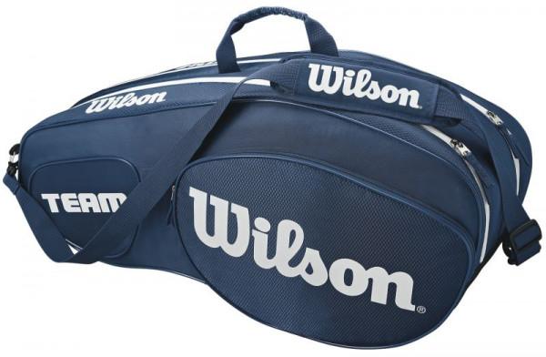 Wilson Team III 6 Pack Bag - blue/white