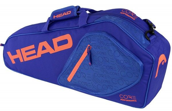 Head Core 3R Pro - blue/fiery coral
