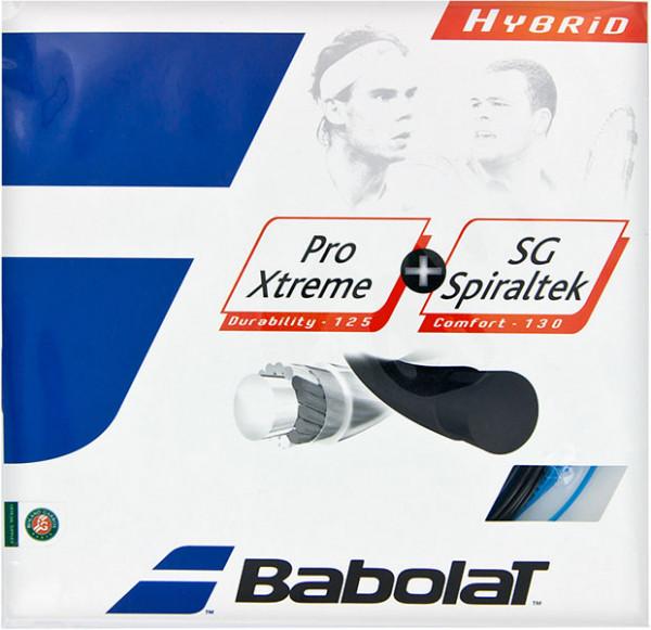 Teniso stygos Babolat Pro Extreme + SG Spiraltek (2x6 m) - black/blue