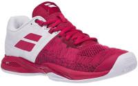 Damskie buty tenisowe Babolat Propulse Blast Clay Women - white/vivacious red