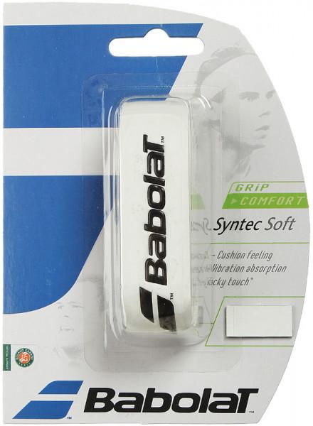 Owijki tenisowe bazowe Babolat Syntec Soft (1 szt.) - white