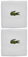 Frotka tenisowa Lacoste SPORT Stretch Cotton Jersey Wristband - white