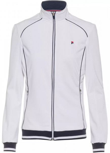 Damska bluza tenisowa Fila Jacket Sophia W - white