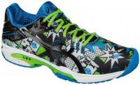 Męskie buty tenisowe Asics Gel-Solution Speed 3 NYC - white/black/green gecko