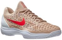 Męskie buty tenisowe Nike Air Zoom Cage 3 - bio beige/bright crimson