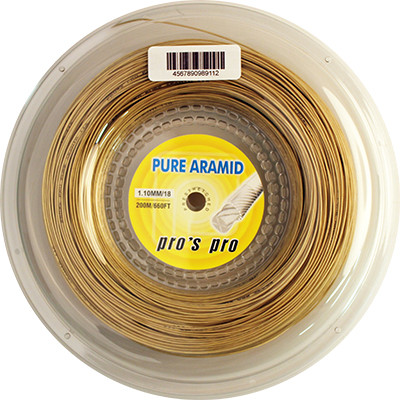 Tennis String Pro's Pro Pure Aramid (200 m)