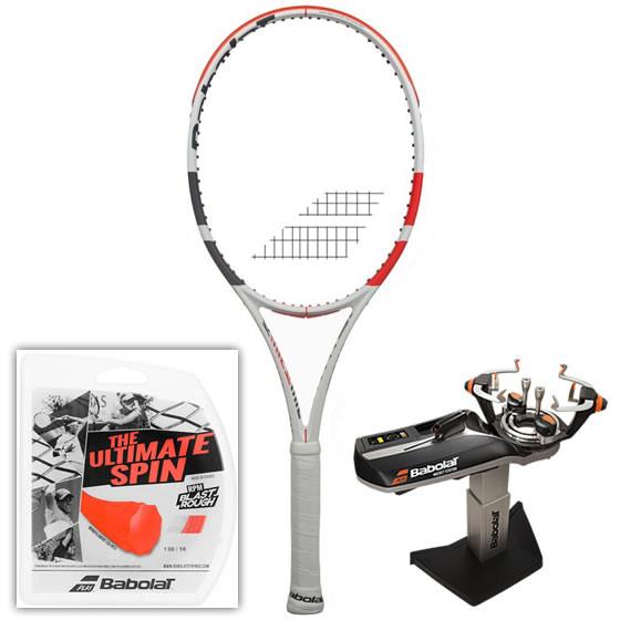 Rakieta tenisowa Babolat Pure Strike 16/19 3gen.+ naciąg RPM Blast Rough + usługa serwisowa