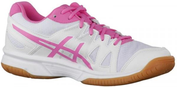 Ženske cipele za squash Asics Gel-UpCourt - white/azalea pink/white