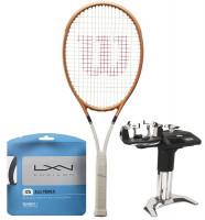 Rakieta tenisowa Wilson Blade 98 (16x19) Roland Garros 2021 + naciąg + usługa serwisowa