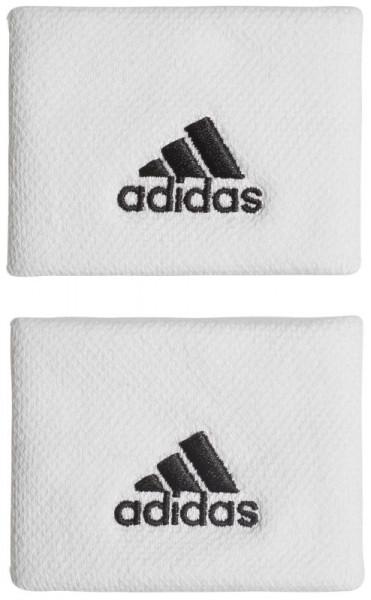 Riešo apvijos Adidas Tennis Wristband S (OSFM) - white/black