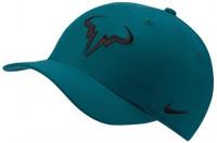 Czapka tenisowa Nike Rafa U Aerobill H86 Cap - dark atomic teal/white