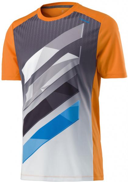 Head Vision Striped Crew Shirt B - orange