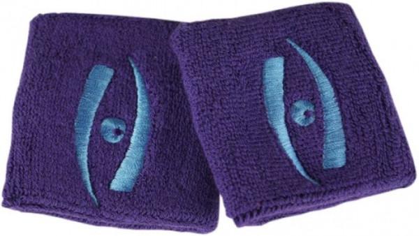 Tennise randmepael Harrow Wristband - purple/carolina