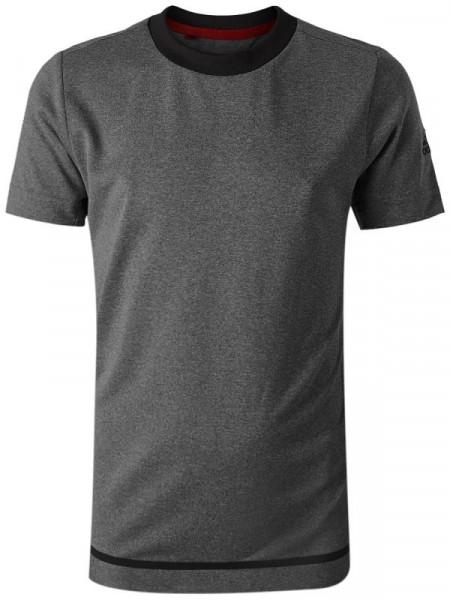 Marškinėliai berniukams Adidas B Barricade Tee - black heather