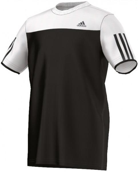 Marškinėliai berniukams Adidas Club Tee - black/white