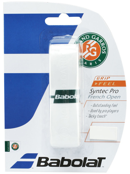 Babolat Syntec Pro French Open (1 szt.) - white